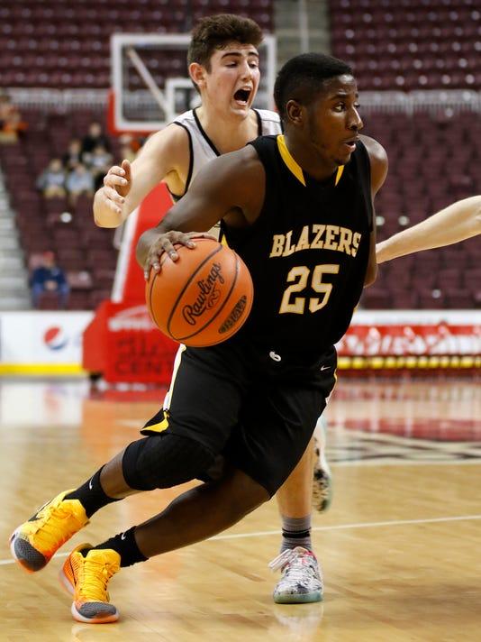 Trinity vs. Lancaster Mennonite Boys Basketball