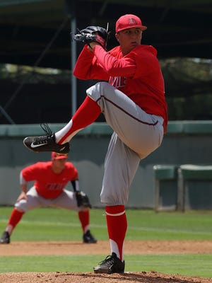 Mason Hilty broke the school record for wins in a season and is a big reason why Dixie State finished the year with a program-record 40 wins.