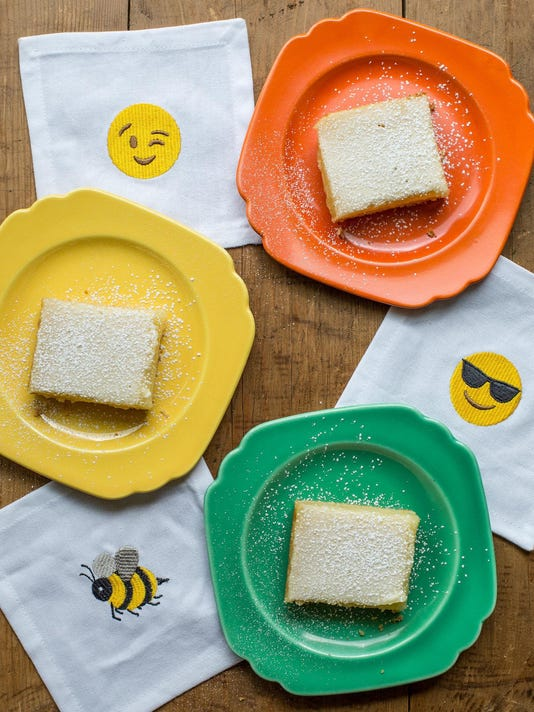 Food Deadline Lemon Squares