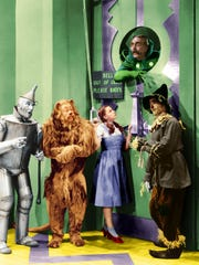 "A scened from ""The Wizard of Oz."""