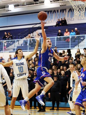 Conner's Spencer Hemmerich drives and scores.