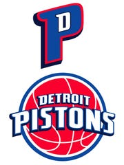 The Pistons' logo announced July 11, 2005.