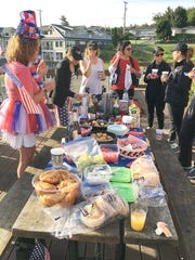 A common ritual after most competitions includes a pot luck and post-race discussions.