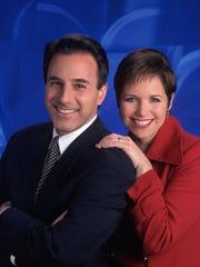 Matt Lauer and Katie Couric in 1997.