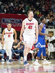 Tyler Hadden helped Belmont earn the No. 2 seed in the OVC Tournament.