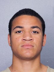 This undated photo released by the Broward Sheriff's Office shows Zachary Cruz. Cruz, the brother of Nikolas Cruz charged with killing 17 people at Marjory Stoneman Douglas High School, was arrested Monday, March 19, 2018 and charged for trespassing at the same school, authorities said.
