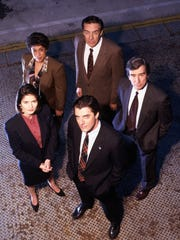 """""""Law & Order"""" (NBC) with Jill Hennessy, S. Epatha Merkerson,"""