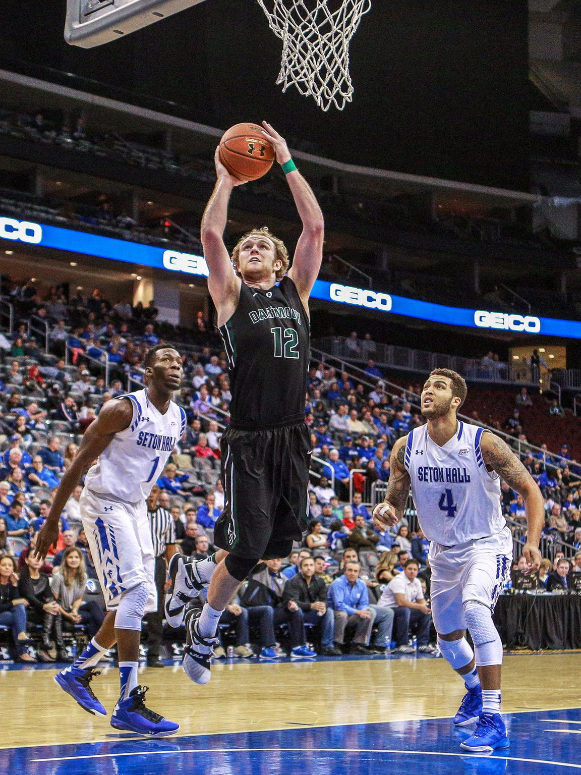 Incoming Purdue graduate transfer Evan Boudreaux initially