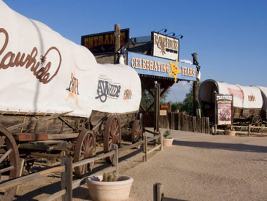 Rawhide offers families a Western adventure Fridays-Sundays.