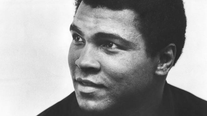 CJ file photoThe Greatest: Muhammad Ali. Unknown date and location; USA: FILE PHOTO; Close up of Cassius Clay aka Muhammad Ali. Mandatory Credit: The Courier-Journal-USA TODAY Sports