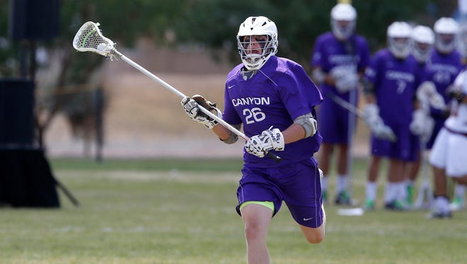 Tate Linford is a defenseman for the Grand Canyon men's lacrosse team.