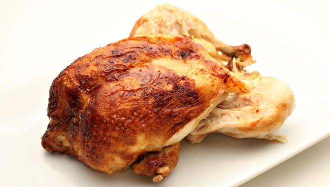 Rotisserie chicken from Safeway as seen in Scottsdale on June 1, 2015