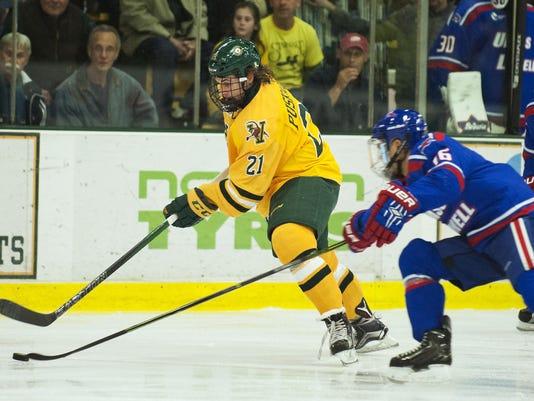 UMass-Lowell vs. Vermont Men's Hockey 11/06/15