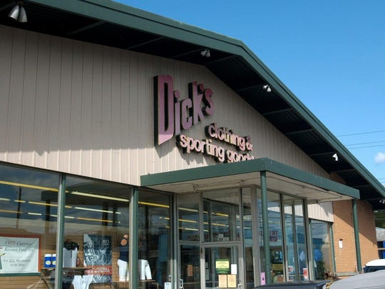 "The Dick's Sporting Goods store on Court Street in Binghamton, also known as ""Store #1."""
