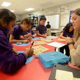 Spanish, Urdu & Thai: Students learn English at school