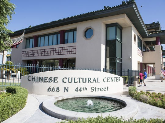 Chinese Cultural Center is shown in Phoenix on Sunday,