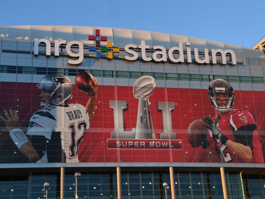 NFL: Super Bowl LI-NRG Stadium Views