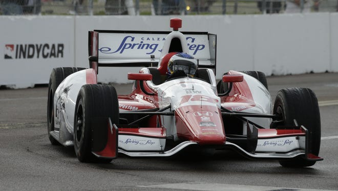 Carlos Huertas has driven Dale Coyne's No. 18 in the IndyCar season's first three events.