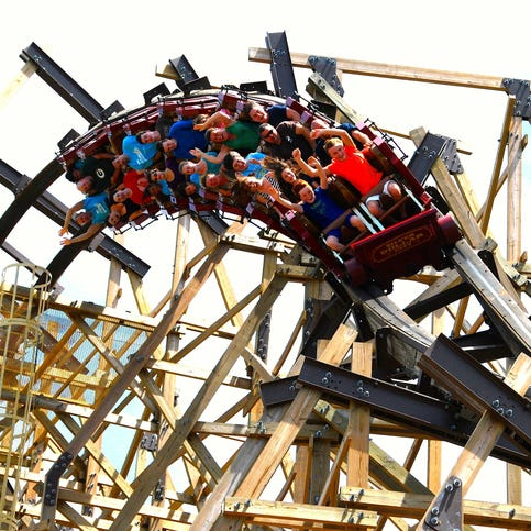Thrill seekers meet their match on these roller coasters