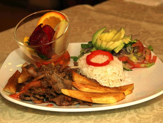 Lomo saltado is a Peruvian-Asian fusion dish. Ed Peaco/For the News-Leader