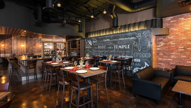 Chefs Shane Copeland and Devin Delnicki did much of the renovation at The Rogue Tomato themselves.