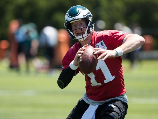 NFL: Philadelphia Eagles-Minicamp