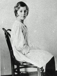 Honoria Livingston is shown in 1918, one of the many