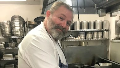 Chef Maxime Kien,  executive chef at Hilton Netherland Plaza