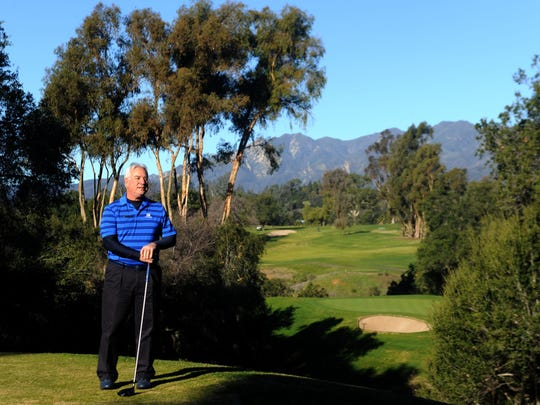 Golf has been a major part of Matt Pavin's life and when he returned to Ventura County he found a job as the golf sales manager at the Ojai Valley Inn.