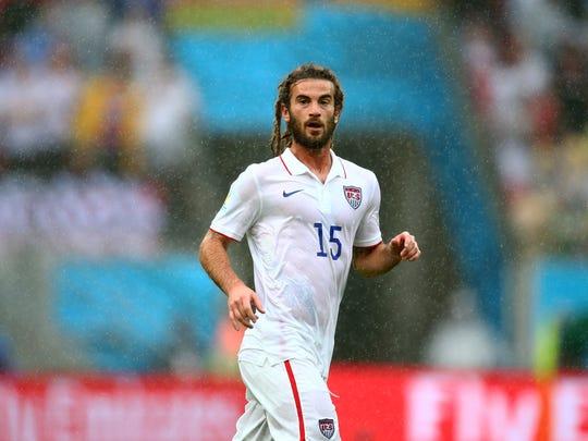 USA midfielder Kyle Beckerman.