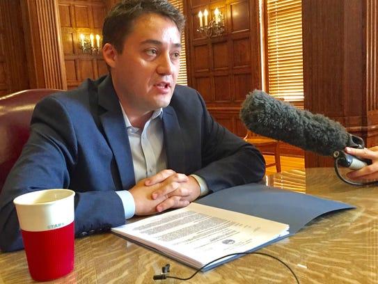 State Budget Director Dan Villa