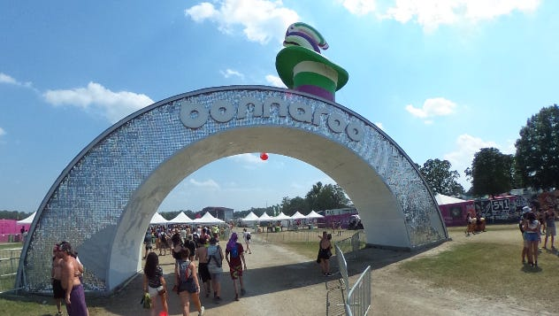 We show you a 360 degree recap of the sights at the 2016 Bonnaroo Music & Arts Festival in Manchester, Tenn. from June 9-11 2016.