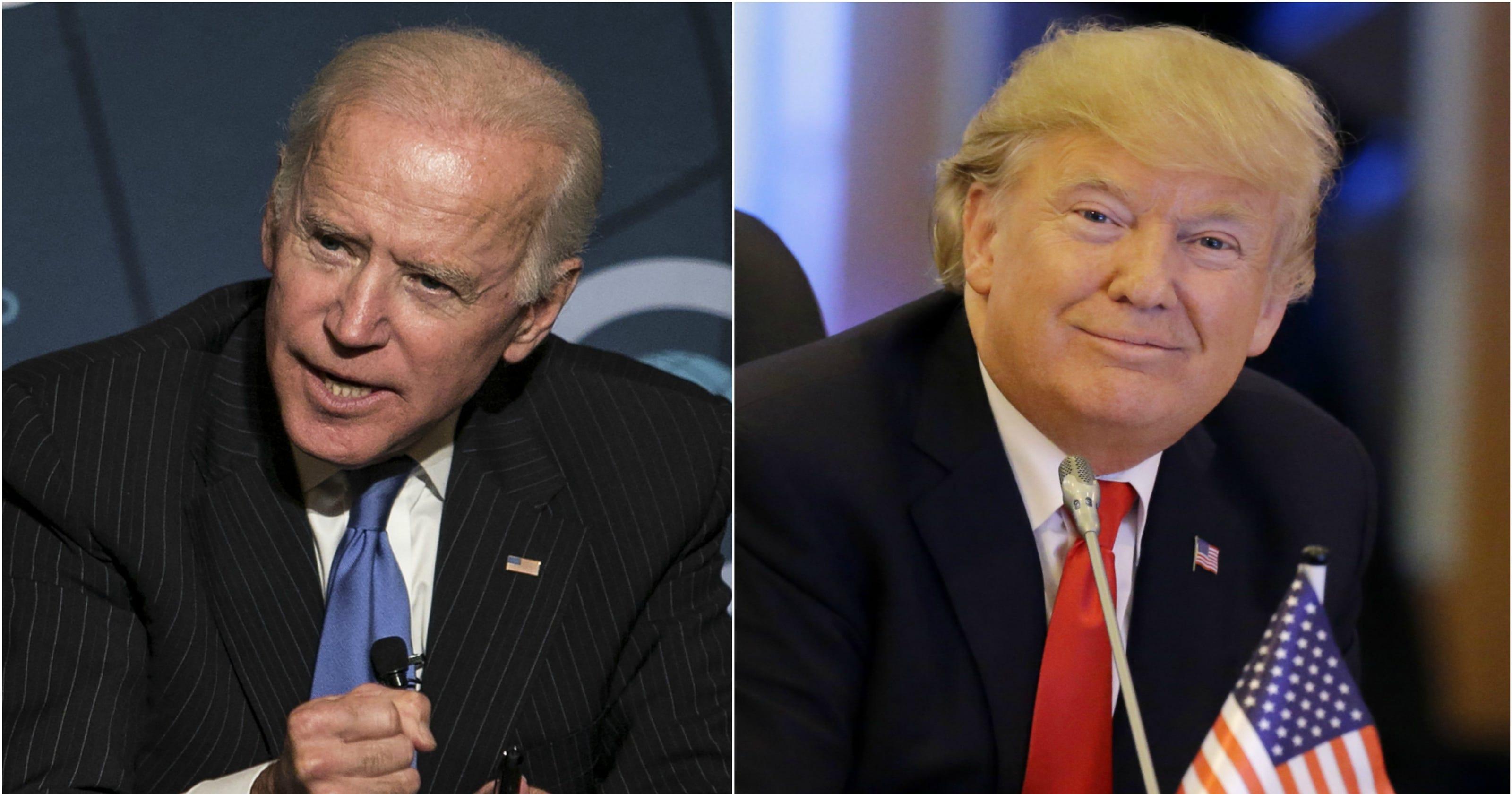 biden  trump whos leading poll   presidential race