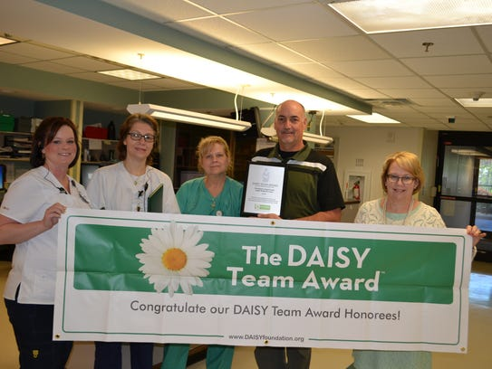 Angel Medical Center's Team 2017 DAISY Award recipients: