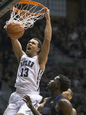 Jackson Davis played just eight minutes over Butler's final six games and did not appear in the Bulldogs' two NCAA tournament games.