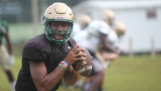 Lincoln senior Chris Brimm is one of the area's top quarterbacks and is the first three-year starter Lincoln has had in recent history.