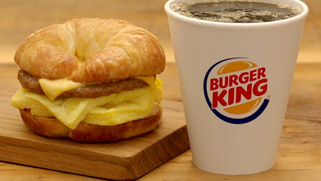Burger King is offering free small smooth roast Seattle's Best Coffee with the purchase of a breakfast sandwich now through Jan. 29.