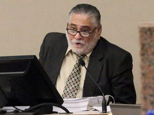 Johnnie Vega, former assistant principal at Bowie High