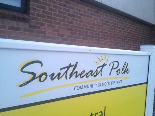 Southeast Polk district sign