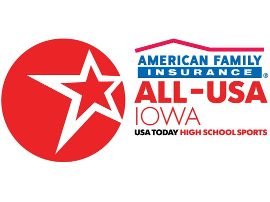 American Family Insurance ALL-USA IOWA performer of the week.