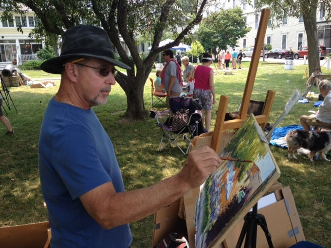 Plein Air Art Festival and Wooden Boat Show