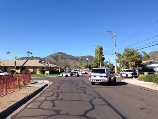 Phoenix homicide scene
