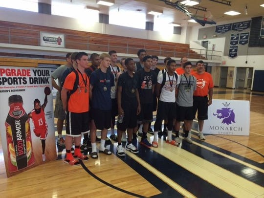 Corona del Sol claims the Prime Time  basketball championship with devastating speed and precision  shooting.