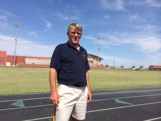 Paul Moro, who won 13 state titles in 30 years as head football coach at Lakeside  Blue Ridge, envisions big things at Poston Butte