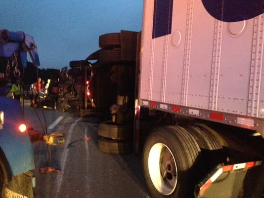 I-40 Reopens After Tractor Trailer Crash Cleared