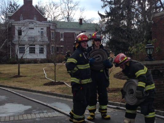 Larchmont house fire