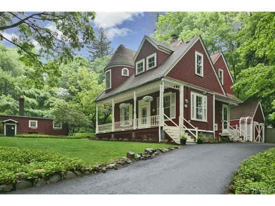 1879 Victorian farmhouse sits perfectly on three quarter acre,