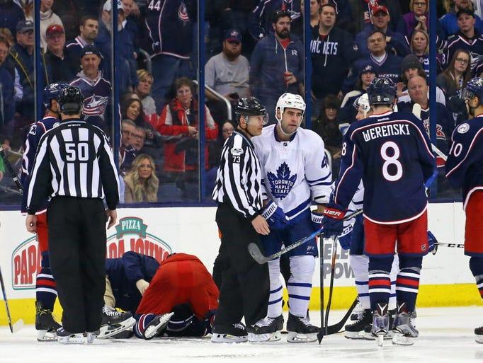 March 23: Toronto Maple Leafs defenseman Roman Polak