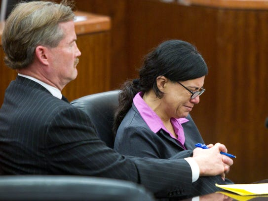 Lawyer Jack Carroll and convicted killer Ana Trujillo
