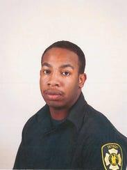 Detroit firefighter Jeramey Saffold